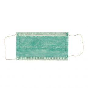 Mundschutz, dreilagig - mit Gummischlaufen