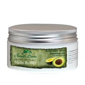 Avocado Körperbutter - mit Sesamöl