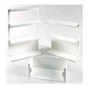 Boxenhalter für Einmalhandschuh-Dispenser, inkl. Schrauben und Dübeln