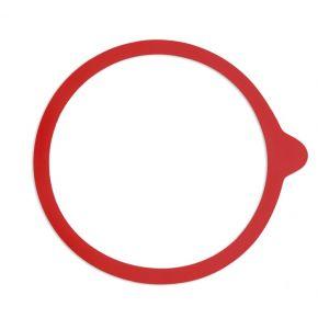 Einkochringe | Größe: 65x90mm, Farbe: rot