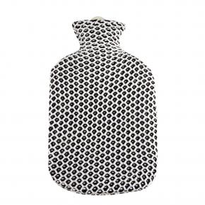 """2,0 Liter Wärmflasche mit Strickbezug aus Baumwolle """"Maja"""""""