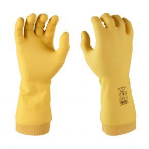 """Nalin"" | Neopren/Latex Handschuhe, geraut"