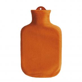 2,0 Liter Wärmflasche mit Konturbezug, orange