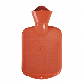 0,8 L Wärmflasche - Orange