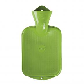 0,8 Liter Gummi-Wärmflasche, apfelgrün