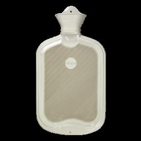 2,0 Liter Gummi-Wärmflasche, weiß