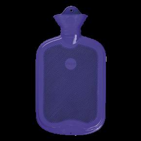 2,0 Liter Gummi-Wärmflasche, flieder