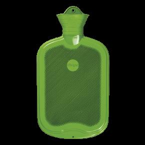 2,0 Liter Gummi-Wärmflasche, apfelgrün