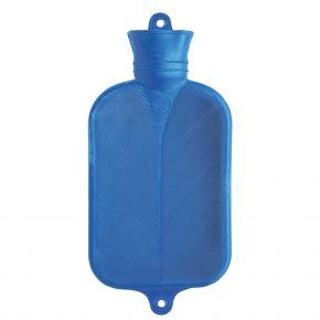 2.0 Liter Wärmflasche, Blau, 38 x 20.5 cm