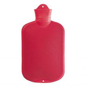 2,0 Liter Wärmflasche, rot, 39 x 19 cm