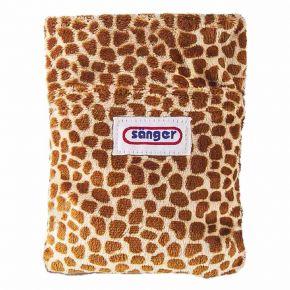 """Körnerkissen """"Giraffe"""", Kirschsteinfüllung, 20x15 cm"""