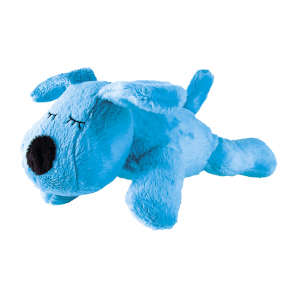 Hund Taps, Blau, gefüllt mit Kirschkern, 23 cm
