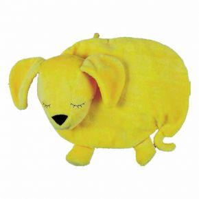 """Körnerkissen """"Fiffy"""" mit Kirschkernfüllung, gelb"""