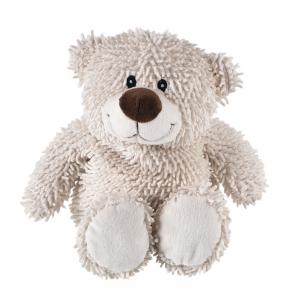 Bär Rusty, wollweiß, gefüllt mit Kirschkern, 33 cm