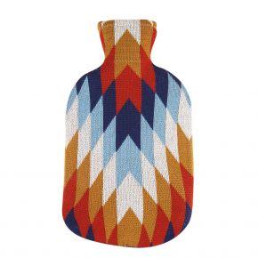 """2,0 Liter Wärmflasche mit Strickbezug aus Baumwolle """"Jaime"""""""