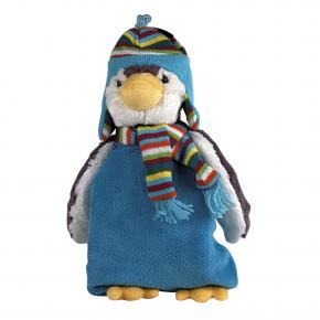 """Plüschtier """"Pinguin Paul"""", 45cm, mit 0,8 Liter Wärmflasche"""