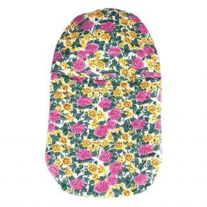 "2,0 Liter Wärmflasche mit Blumenmotivbezug ""Tahiti"""