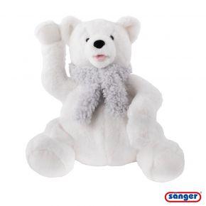 """Schmusetier """"Eisbär Knut"""", 40 cm, mit 0,8 Liter Wärmflasche"""
