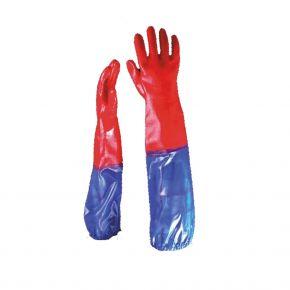 """Tom"" | Teichhandschuhe aus hochwertigem starken PVC"