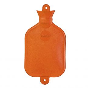 1,5 Liter Wärmflasche, orange, 37 x 19 cm