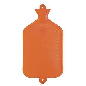 2,0 Liter Wärmflasche, orange, 40 x 20 cm