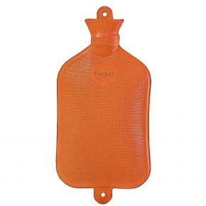2,5 Liter Wärmflasche, orange, 35 x 21 cm