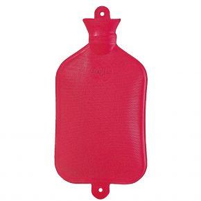 2,5 Liter Wärmflasche, rot, 35 x 21 cm