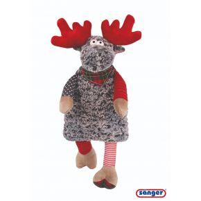 """Plüschtier """"Elch Rudolph"""", 57cm, mit 0,8 Liter Wärmflasche"""